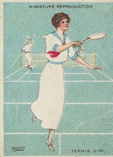 1913-14 Richmond Artistic Pictures Tennis T32