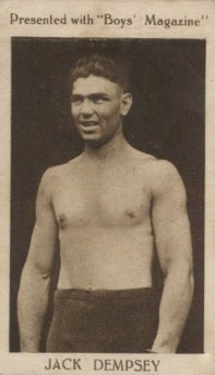 1922 Boys Magazine Jack Dempsey Boxing