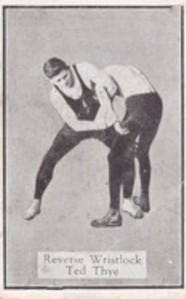 1924 Allens Wrestlers Wrestling