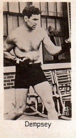 1932 La Pie Qui Chante Boxing Jack Dempsey