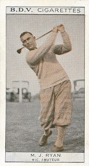 1933 BDV Who's Who in Australian Sport Golf