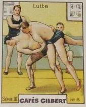 1936 Cafes Gilbert Wrestling