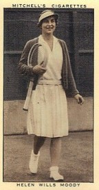 1936 Mitchell's Helen Wills Tennis