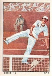 1936 Nestle Sport Stamps Tennis