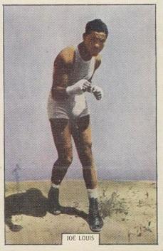 1939 Timaru Milling Century of Progress Boxing Joe Louis