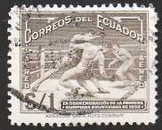 Bolivarian Games Boxing Stamp