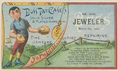Boss Pat Cases Trade Card Boxing
