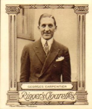 Edwards Ringer Bigg Cinema Stars George Carpentier Large No. 7