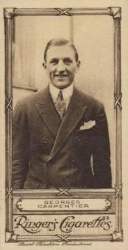 Edwards Ringer Bigg Cinema Stars George Carpentier Small No. 43