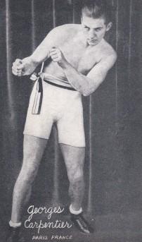 Georges Carpentier Boxing Exhibit