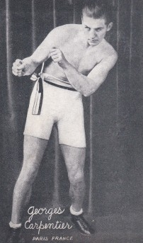 Georges Carpentier Boxing Exhibit