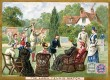 Huntley and Palmers Lawn Tennis Match Trade Card