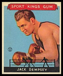 Jack Dempsey 1933 Goudey Sport Kings Boxing