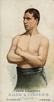 Jack Dempsey N28 Boxing Allen and Ginter