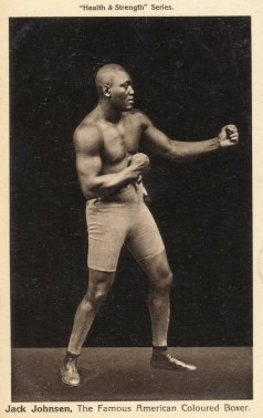 Jack Johnson Health and Strength Postcard Boxing.jpeg