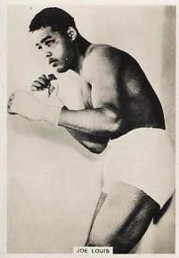 Joe Louis Boxing 1935-38 Ardath Photocards