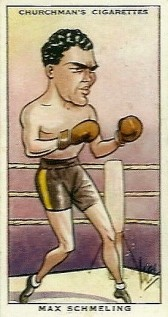Max Schmeling Boxing 1931 Churchman Sporting Celebrities