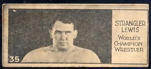 V122 Willard Strangler Lewis Wrestling