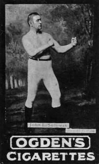 1901 Ogden Tabs John Sullivan Boxing