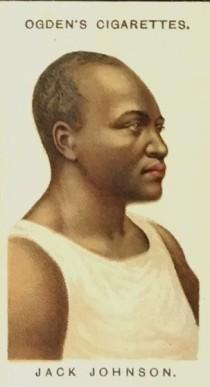 1909 Ogden Pugilists and Wrestlers Jack Johnson Boxing