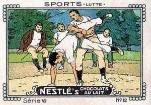 1920 Nestle Wrestling