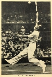 1937 Wills British Sporting Personalities Fred Perry Tennis