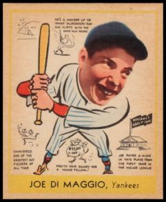 1938 Goudey DiMaggio