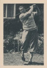 1939 African Tobacco World of Sport Golf