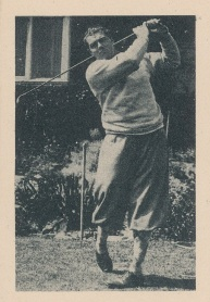 1939 African Tobacco World of Sport Golf
