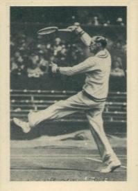 1939 African Tobacco World of Sport Tennis