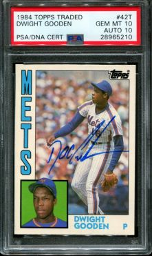 Dwight Gooden 1984 Topps Traded Rookie