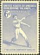 Far Eastern Games Tennis Stamp