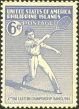 Far Eastern Games Tennis Stamp