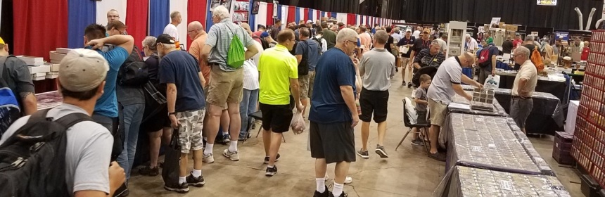 Not Live From The 2018 National Sports Collectors Convention