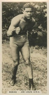 Pattreiouex Sporting Events and Celebrities Joe Louis Boxing