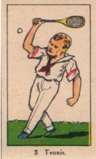 W542 Strip Card Tennis