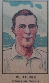 W551 Strip Card Bill Tilden Tennis