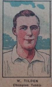 W551 Strip Card Bill Tilden Tennis