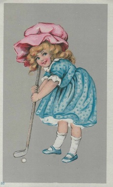 205. Western and Southern Life Insurance Golf Trade Card