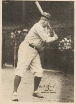 Babe Ruth R316 Kashin No Made in USA