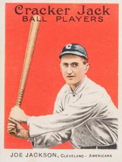 Joe Jackson 1915 Cracker Jack