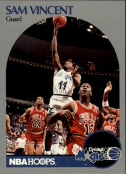 Sam Vincent 1990 Hoops Michael Jordan