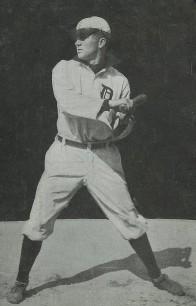 Ty Cobb Dietsche Postcard Rookie