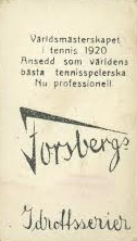 1930 Forsbergs Back