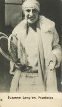 1930 Forsbergs Suzanne Lenglen Tennis