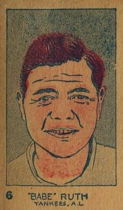 Babe Ruth W512 Strip Card