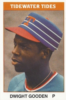 Dwight Gooden Tidewater Minor League Card