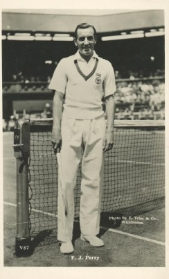 Fred Perry EC Trim Postcard Tennis