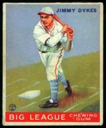 Jimmy Dykes 1933 Goudey