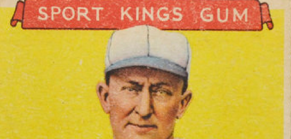 Ty Cobb Goudey Sport Kings Top 1933
